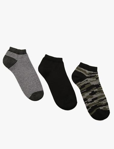 Koton 3'lü Çorap Yeşil